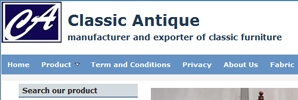 web design Classic Antique Furniture